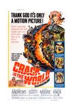 Crack in the World, Dana Andrews (Bottom Left), 1965 Posters