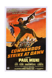 Commandos Strike at Dawn, Paul Muni, 1942 Posters