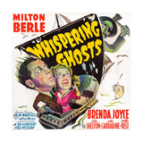 The Whispering Ghosts, from Top: John Carradine, Milton Berle, Brenda Joyce, 1942 Posters