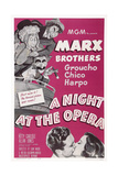 A Night at the Opera, 1935 Giclee Print