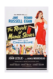 The Revolt of Mamie Stover, Left: Richard Egan; Right: Jane Russell, 1956 Plakát