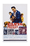 Flaming Star, Dolores Del Rio, Elvis Presley, Barbara Eden, 1960 Poster