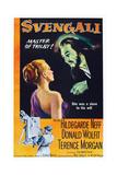 Svengali, L-R: Hildegard Knef, Donald Wolfit, 1954 Posters