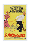 To Paris with Love, 1955 Poster