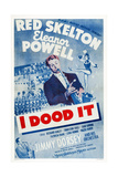 I Dood It, from Bottom Left: Jimmy Dorsey, Red Skelton, Eleanor Powell, 1943 Plakat
