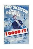 I Dood It, Jimmy Dorsey, Red Skelton, Eleanor Powell, 1943 Plakat