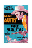 Under Fiesta Stars, Gene Autry, 1941 Art