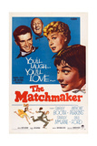 The Matchmaker, from Left: Anthony Perkins, Paul Ford, Shirley Booth, Shirley Maclaine, 1958 Plakater