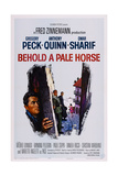 Behold a Pale Horse, L-R: Gregory Peck, Anthony Quinn, Omar Sharif, 1964 Prints