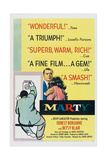 Marty, Ernest Borgnine, 1955 Posters