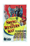 Swing the Western Way, Top: the Hoosier Hotshots, 1947 Prints