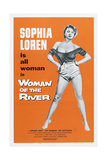 Woman of the River, (Aka La Donna Del Fiume, Aka the River Girl), Sophia Loren, 1955 Prints