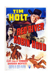 Red River Robin Hood, Tim Holt, 1942 Posters