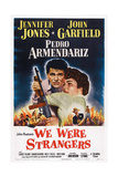 We Were Strangers, L-R: Jennifer Jones, John Garfield, 1949 Posters