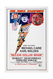 Billion Dollar Brain, Michael Caine, Ed Begley, 1967 Prints