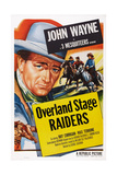 Overland Stage Raiders, 1938 Poster