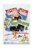 My Blue Heaven, Betty Grable, Dan Dailey, 1950 Affiche