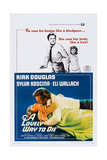 A Lovely Way to Die, Top and Bottom: Kirk Douglas, Sylva Koscina, 1968 Prints