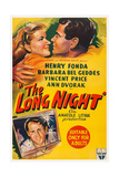 The Long Night, Top, from Left: Barbara Bel Geddes, Henry Fonda, 1947 Prints