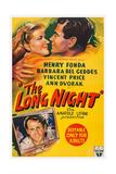 The Long Night, Top, from Left: Barbara Bel Geddes, Henry Fonda, 1947 Prints