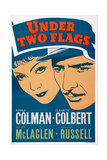 Under Two Flags, from Left: Claudette Colbert, Ronald Colman, 1936 Posters