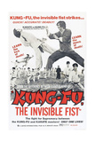 Kung-Fu, the Invisible Fist, Ca. 1974 Art