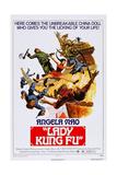 Lady Kung Fu (Aka He Qi Dao), 1972 Posters