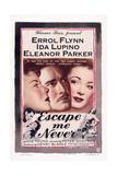 Escape Me Never, Ida Lupino, Errol Flynn, Eleanor Parker, 1947 Kunst