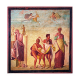Iphigenia Carried to Sacrifice, C. 45-79 Print