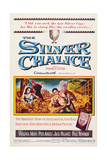 The Silver Chalice, from Left: Pier Angeli, Jack Palance, Virginia Mayo, Paul Newman, 1955 Plakat
