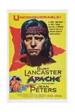 Apache, Burt Lancaster, 1954 Print
