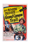 Grand Canyon Trail, from Left: Jane Frazee, Roy Rogers, 1948 Print