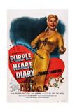 Purple Heart Diary, Frances Langford, 1951 Poster