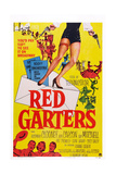 Red Garters, Bottom from Left: Jack Carson, Rosemary Clooney, Guy Mitchell, 1954 Prints