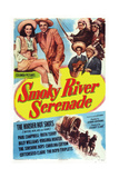 Smoky River Serenade Print