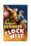 Clock Wise, from Left: Edgar Kennedy, Vivien Oakland, Billy Franey, 1939 Poster