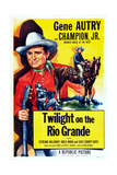 Twilight on the Rio Grande, Gene Autry, 1947 Prints