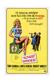 The Alphabet Murders, from Left: Anita Ekberg, Robert Morley, Tony Randall, 1965 Print