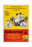 Harold and Maude, Ruth Gordon, Bud Cort, 1971 Poster