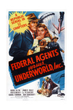 Federal Agents Vs. Underworld, Inc., from Left: Kirk Alyn, Rosemary La Planche, 1949 Prints