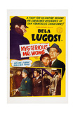 The Mysterious Mr. Wong, Bela Lugosi, Arline Judge, Wallace Ford, 1934 Prints