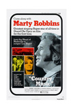 Country Music, Right: Marty Robbins, Bottom Right: Tammy Wynette, 1972 Posters