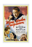 Wives under Suspicion, from Top: Warren William, William Lundigan, Gail Patrick, Ralph Morgan, 1938 Posters