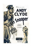 The Super Snooper, Left: Andy Clyde, 1934 Prints