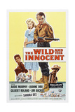 The Wild and the Innocent, from Left: Joanne Dru, Sandra Dee, Audie Murphy, Gilbert Roland, 1959 Prints