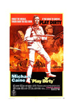 Play Dirty, Left: Nigel Davenport, Center and Right: Michael Caine, 1969 Posters
