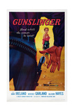 Gunslinger, Beverly Garland (Back), 1956 Prints