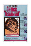 Shock Treatment, Right from Top: Stuart Whitman, Carol Lynley, Roddy Mcdowall, Lauren Bacall, 1964 Giclee Print
