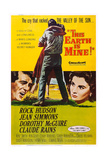 This Earth Is Mine, from Left: Rock Hudson, Jean Simmons, 1959 Kunst