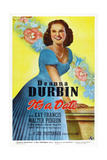It's a Date, Deanna Durbin, 1940 Prints